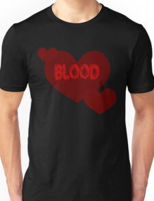 Blood Hearts - Red Unisex T-Shirt