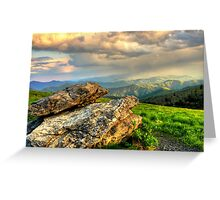 Roan Stone Greeting Card