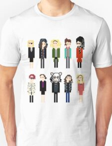 Pixel Sestras - 10 - Horizontal Unisex T-Shirt