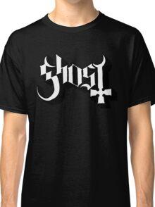 Ghost (Ghost BC) White/Black HD Logo Classic T-Shirt