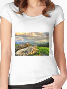 Roan Stone Women's Fitted Scoop T-Shirt
