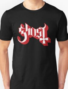 Ghost (Ghost BC) Red HD Logo Unisex T-Shirt