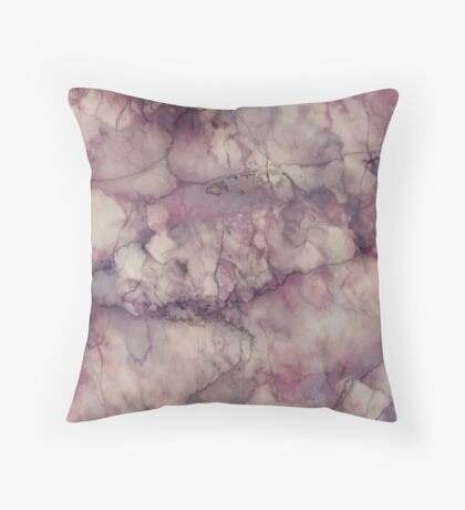 Marble Art V1 Throw Pillow