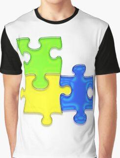 Puzzle Graphic T-Shirt