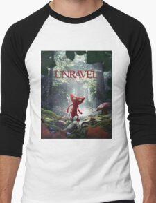 Unravel Men's Baseball ¾ T-Shirt