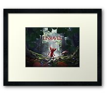 Unravel Framed Print