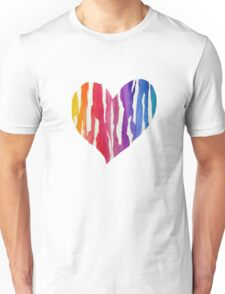 Ripped Rainbow Unisex T-Shirt