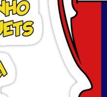 Barcelona 2009 Champions League Final Winners Sticker