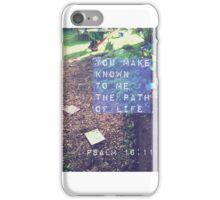 Psalm 16:11 iPhone Case/Skin