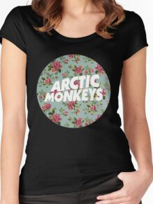 arctic monkey Women's Fitted Scoop T-Shirt
