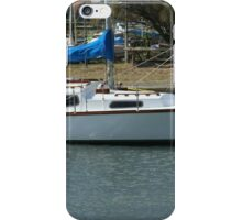 White Beauty waiting to sail iPhone Case/Skin