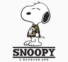 Snoopy Bape Baby Tee