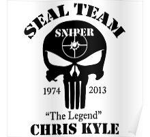 seal team sniper The Legend chris kyle Poster