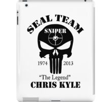 seal team sniper The Legend chris kyle iPad Case/Skin