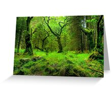 The Heart Of The Forest Greeting Card