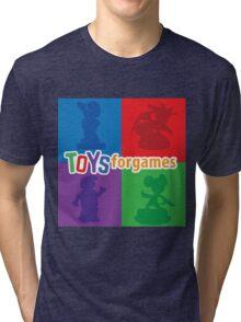 Toys For Games Logo Tri-blend T-Shirt