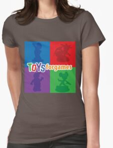 Toys For Games Logo Womens Fitted T-Shirt