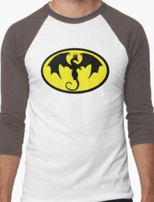 Batman Dragon Men's Baseball ¾ T-Shirt
