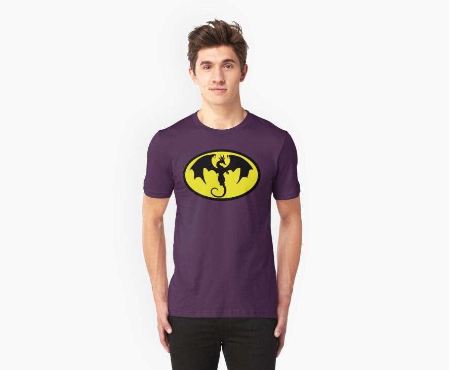 Batman Dragon by Brantoe