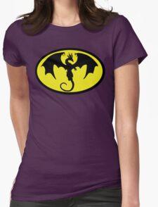 Batman Dragon Womens Fitted T-Shirt