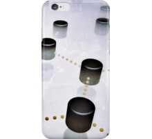 Interconnected cylinders in the mist iPhone Case/Skin