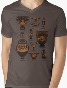 Ancient Greek Pottery Mens V-Neck T-Shirt