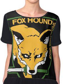 Fox Hound Chiffon Top