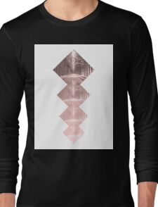 Forest Squares Long Sleeve T-Shirt