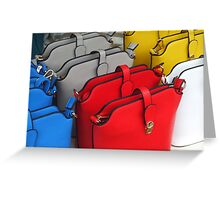 Handbags Greeting Card