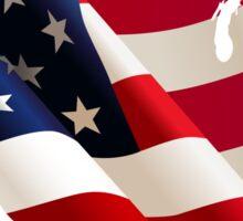 USA America Flag Sticker