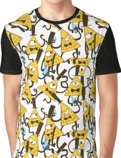 Bill Cipher pattern - plain Graphic T-Shirt