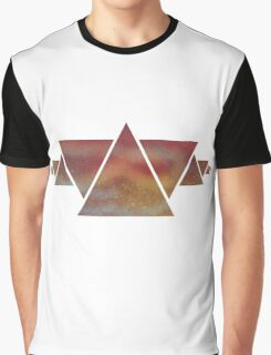 Triangle abstract art Graphic T-Shirt