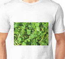 Soap bubbles in the grass. Unisex T-Shirt