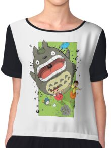 My Neighbor Totoro Funny Chiffon Top