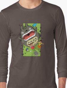 My Neighbor Totoro Funny Long Sleeve T-Shirt