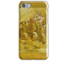 Vincent Van Gogh - Post- Impressionism Oil Painting, Quinces, lemons, pears and grapes, September 1887 - October 1887 iPhone Case/Skin