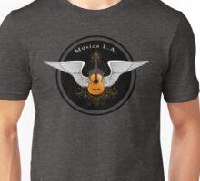 Musica L.A. Guitar Logo  Unisex T-Shirt