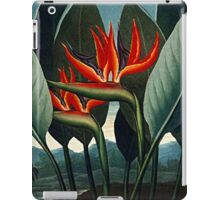 Botanical Art The Bird Of Paradise iPad Case/Skin