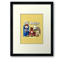 the doctor friends Framed Print