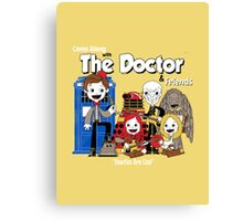 the doctor friends Canvas Print