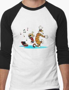 Calvin and Hobbes Dance Men's Baseball ¾ T-Shirt