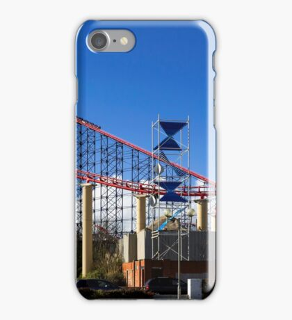 Blackpool-Rollercoaster iPhone Case/Skin
