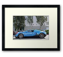Transformers Veyron Framed Print