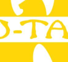 Wu-Tang Gold Sticker