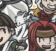 Saiyuki - The Sanzo Ikkou - Fan art Sticker