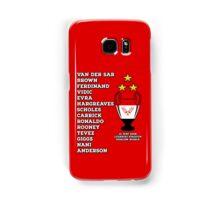 Manchester United 2008 Champions League Winners Samsung Galaxy Case/Skin