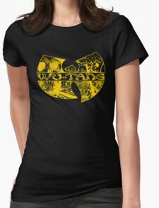 Wu-Tang Gold 2 Womens Fitted T-Shirt