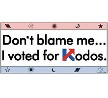 Don't Blame Me... I Voted For Kodos by TVsauce
