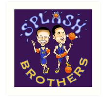 Spash Brothers Art Print