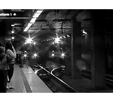 Los Angeles Metro Rail Photographic Print